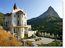 Buy a palace in the Crimea.